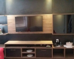 Home Theater sala e home theater quarto planejado Bartz